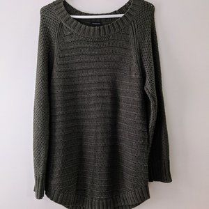 Calvin Klein Knitted Sweater Olive Size Large